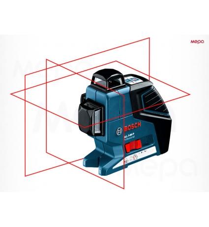 Лазерный нивелир Bosch GLL 3-80 в аренду, Стройпрокат16.рф