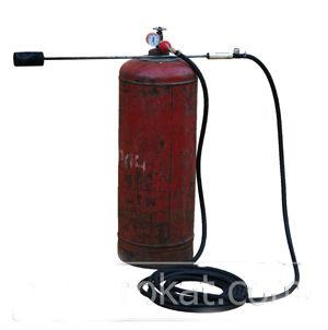 как подсоединить кровельную горелку к газовому баллону